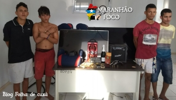 Polícia Militar prende bandidos que roubaram e agrediram família em Açailândia