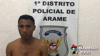 Homem é preso por estuprar menina de 11 anos em Arame-MA